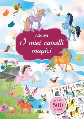 ADESIVI • I MIEI CAVALLI MAGICI_Cubierta.indd