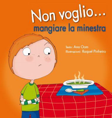 NON VOGLIO… MANGIARE LA MINESTRA_Cubierta.indd