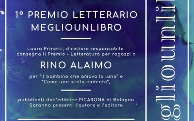 """Premio Letterario """"Megliounlibro"""" – sezione Ragazzi, Prima edizione"""