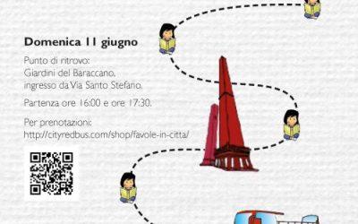 Favole in città – Racconti animati per le strade di Bologna