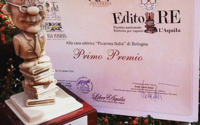 """Premio Nazionale Editoria per Ragazzi """"EditoRE"""" 2018"""