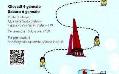 Favole in città – Racconti animati per le strade di Bologna. SPECIALE NATALE
